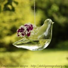 Подвесная ваза - Птичка