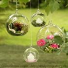 Набор подвесных ваз - шаров