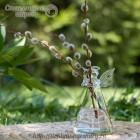 Стеклянная ваза Ангел